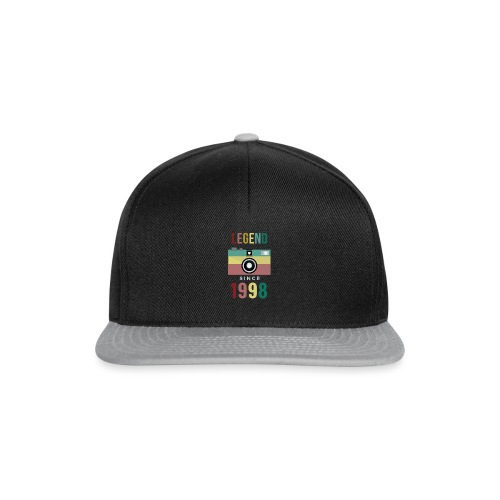 Legend since 1998 birthday t-shirt - Snapback cap