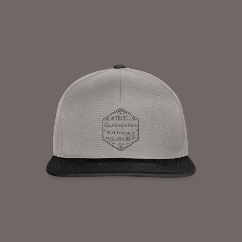 Haldenhelden Denim No.1 - Snapback Cap