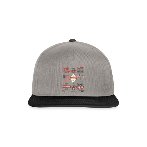 happy 4th of july shirt independente day america - Casquette snapback