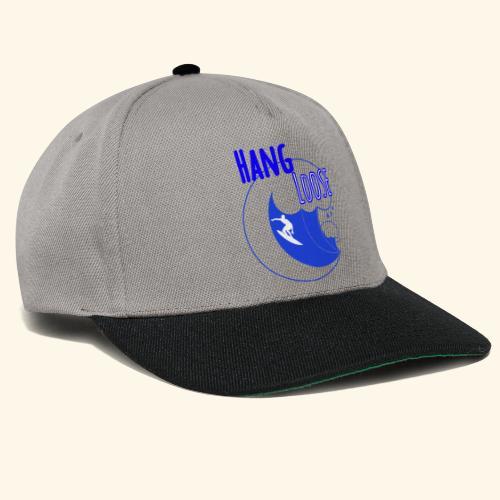 Hangloose Surfer Style Beach Waves Sommer Urlaub - Snapback Cap