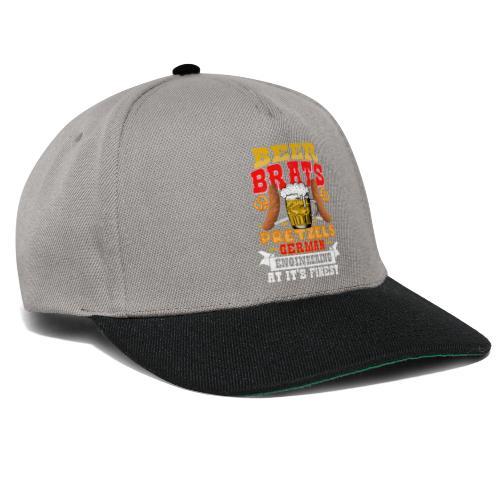 Bier, Bratwurst, deutsches... - Snapback Cap