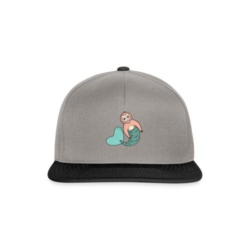 Faultier-Meerjungfrau - Snapback Cap