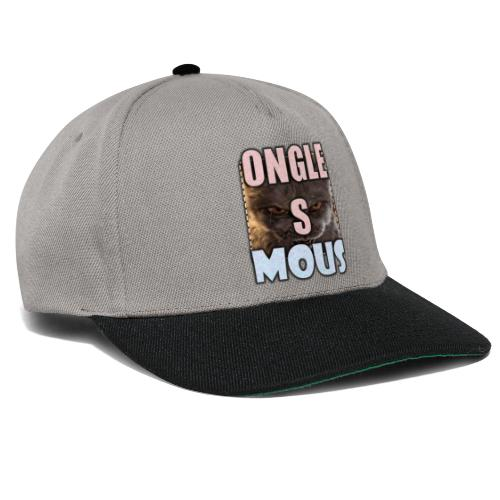 ONGLES MOUS - Casquette snapback