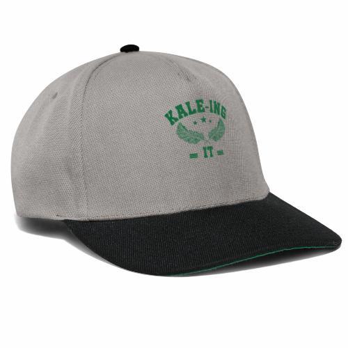 Kale - ing it - Veganer Geschenkidee - Snapback Cap