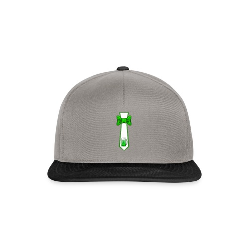 St Patricks Day Necktie and Bowtie Green Beer Mug - Snapback Cap