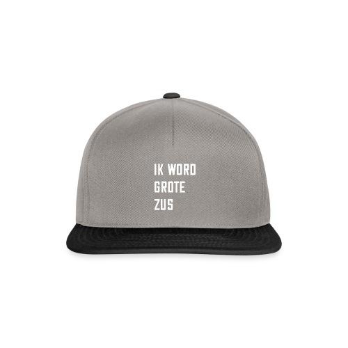 IK WORD GROTE ZUS - Snapback cap