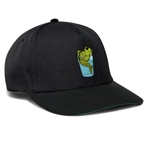 Fisch im Glas - Snapback Cap