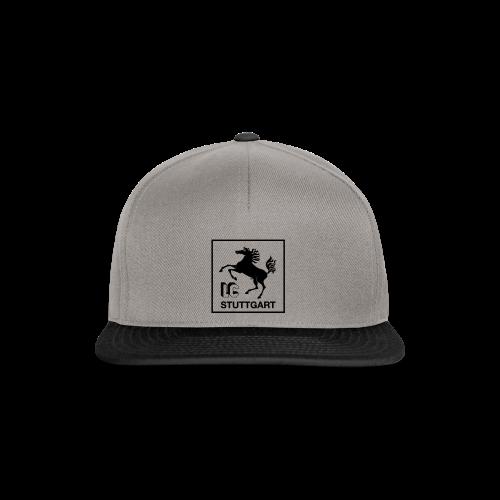 LC Stuttgart Logo quadratisch schwarz - Snapback Cap