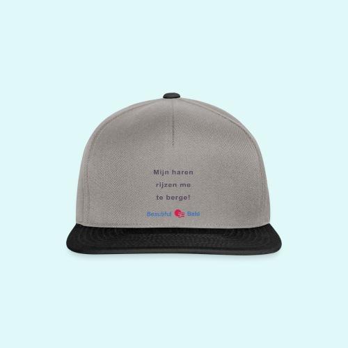 Mijn haren rijzen me te bergen b - Snapback cap