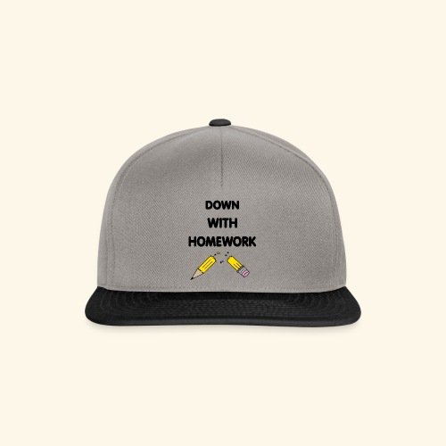Down With Homework - Casquette snapback