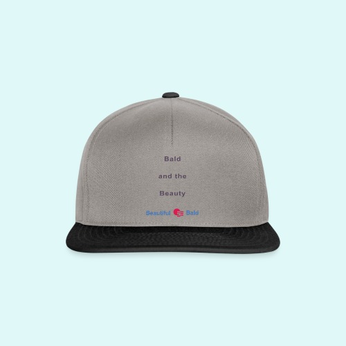 Bald and the Beauty b - Snapback cap