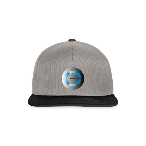 MY WORLD - Gorra Snapback