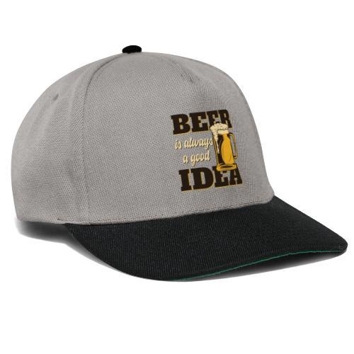 Beer is always a good Idea - Snapback Cap
