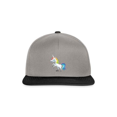 Regenbogen-Einhorn - Snapback Cap