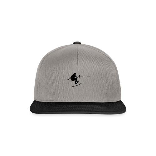 wakeskater_black - Snapback Cap