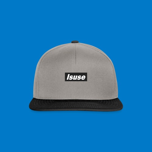 box logo black isuse - Gorra Snapback