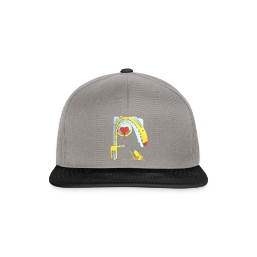 Giraffa innamorata - Snapback Cap