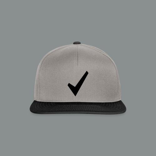 spunta nera - Snapback Cap
