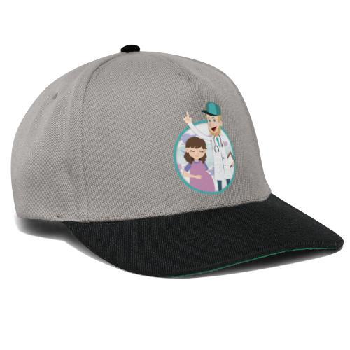 Richtig Schwanger Logo - Snapback Cap