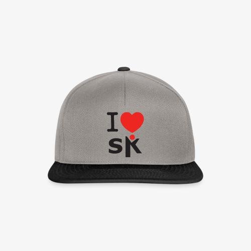 I Love SK - Casquette snapback