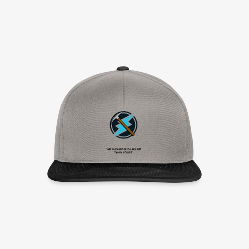 Electroneum - My HashRate is Higher than yours - Casquette snapback