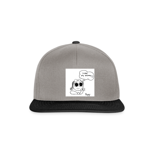 Pupy: I love my mummy! - girl - Snapback Cap