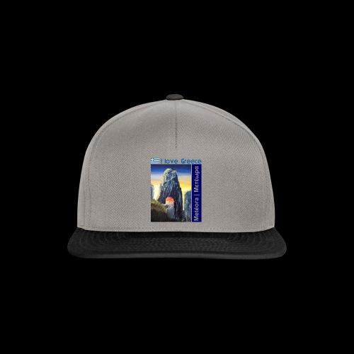 I love Greece. Blue Meteora - Snapback Cap
