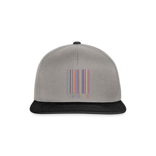 Bar code - Snapback Cap