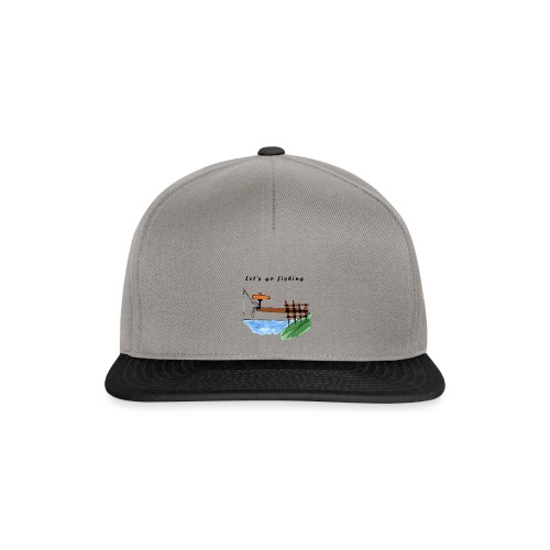 Let's go fishing - Snapback Cap