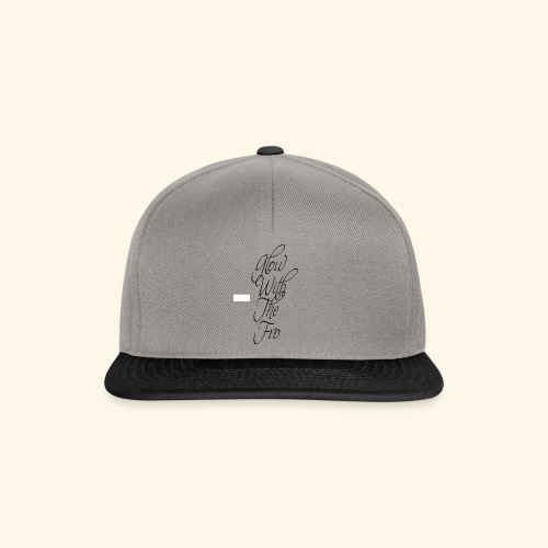 GlowWithTheFro Black - Snapback Cap