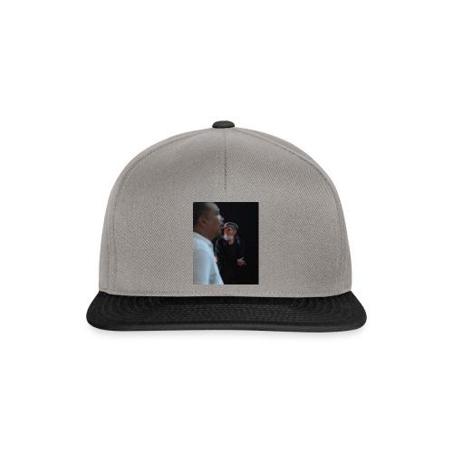 smoke n think. - Snapback Cap