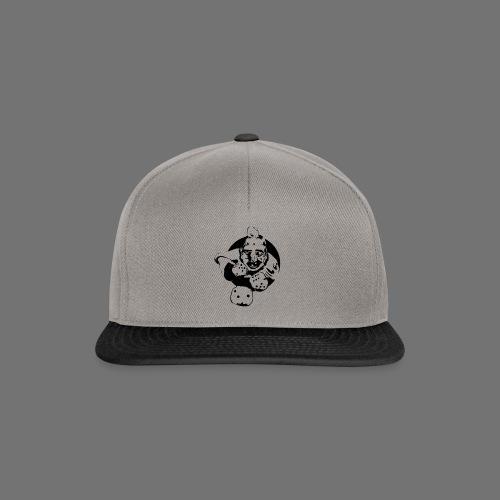 Professional Gambler (1c musta) - Snapback Cap