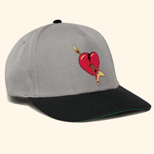 music heart - Gorra Snapback