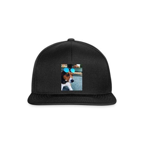Hund mit Sonnenbrille - Snapback Cap
