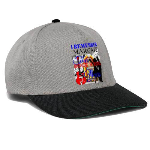 REMEMBER MARGATE - THE ROCK ROLL YEARS 1950's - Snapback Cap