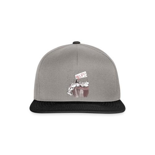 blacksheep no_background - Snapback Cap