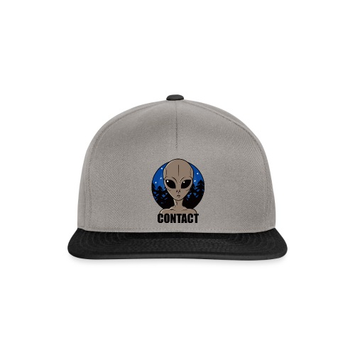 Contact Extraterrestre - Casquette snapback