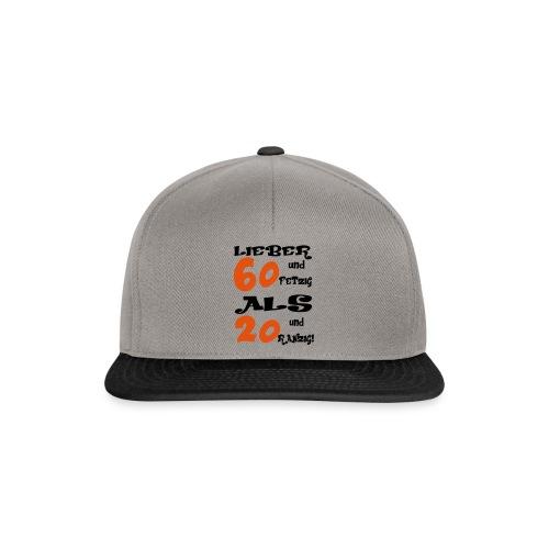 Lieber 60 - Snapback Cap