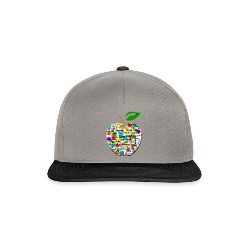 ny apple - Snapback Cap