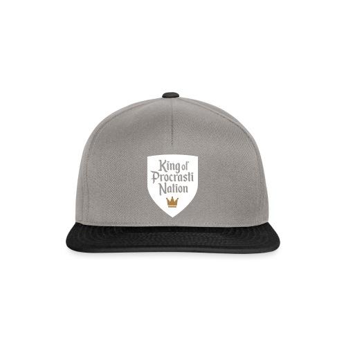 King Of ProcrastiNation - Snapback Cap