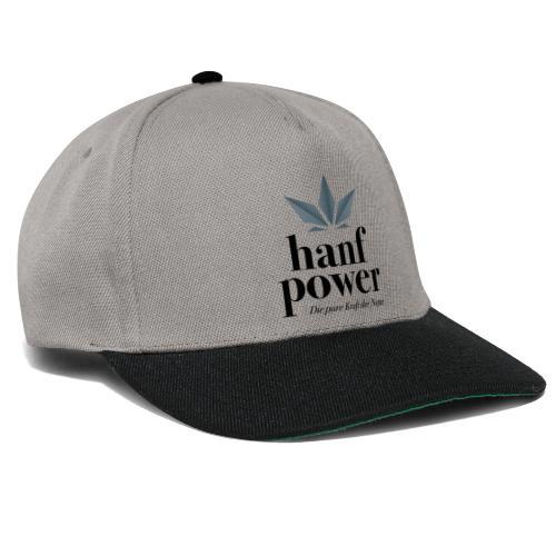 Hanf Power Logo - Snapback Cap