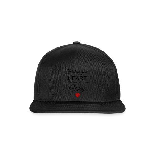 follow your heartbesser - Snapback Cap