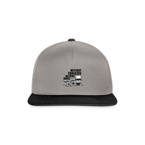 0911 without truckers nothing moves - Snapback cap