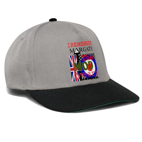 REMEMBER MARGATE - THE MOD YEARS 1960's - Snapback Cap