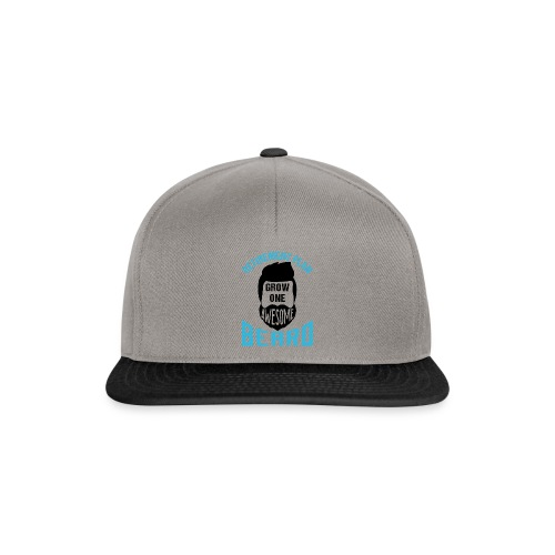 Retirement Plan Grow One Awesome Beard - Snapback Cap