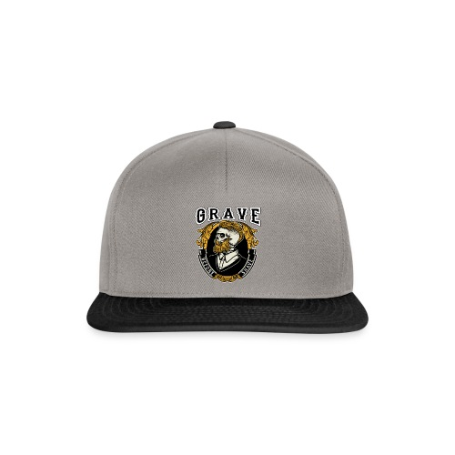 Grave Before Shave Bearded - Snapback Cap