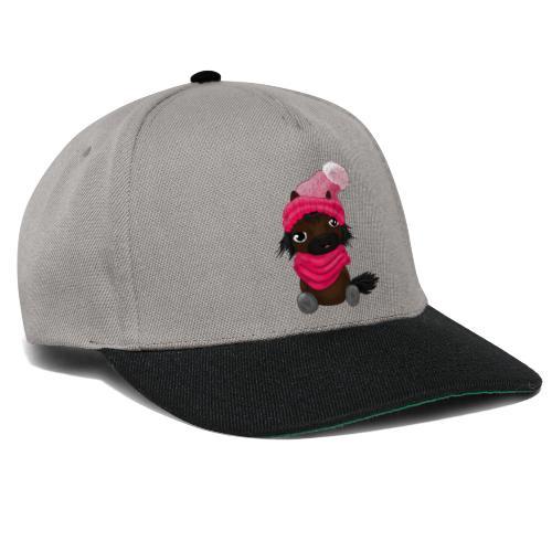 Schon eingedeckt? rosa - Snapback Cap