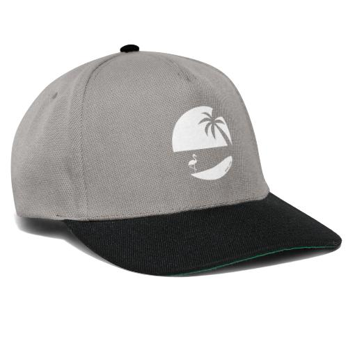 Logo French Floridian blanc - Casquette snapback