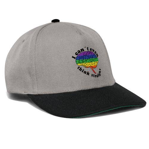 Ich kann nicht einmal klar denken | LGBT - Snapback Cap