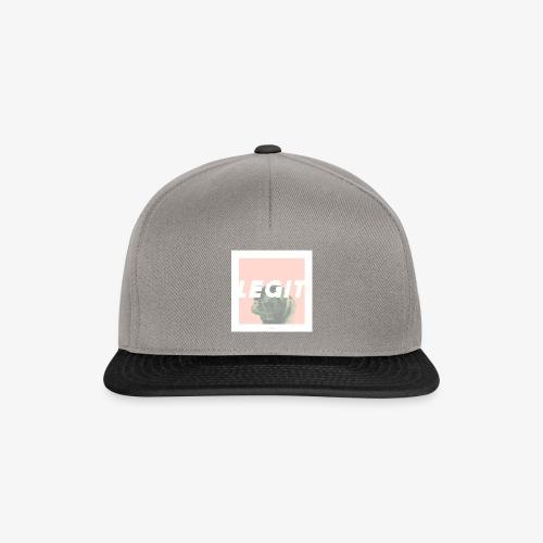 LEGIT #03 - Snapback Cap